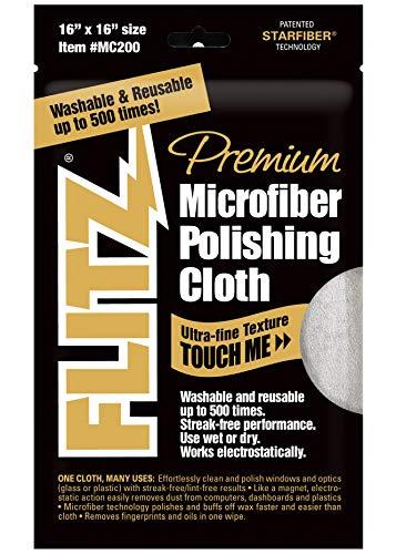 Flitz Microfiber Polishing Cloths - Flitz MC200 Thick 'n Thirsty 16