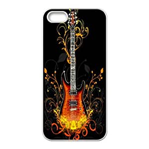 Custom Guitar Pattern High Quality Pattern Hard Case Cover for Iphone Case 5,5S TSL153545