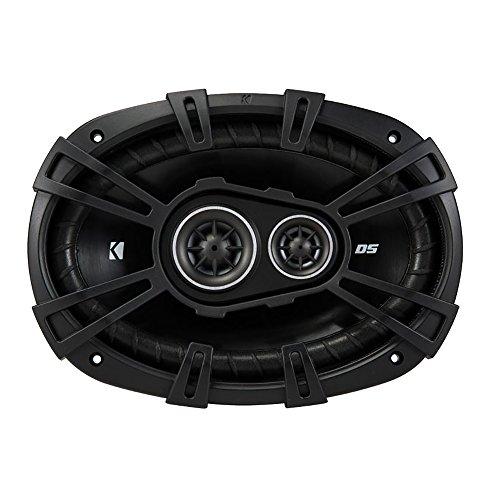 Kicker D-Series 6x9 360W 3-Way Car Audio Coaxial Speakers 43DSC69304 (4 Pack)