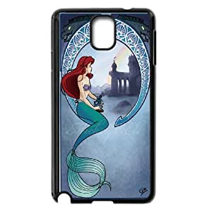 Hot case The little mermaid Hard Plastic phone Case Cover For Samsung Galaxy NOTE4 Case Cover XFZ392695