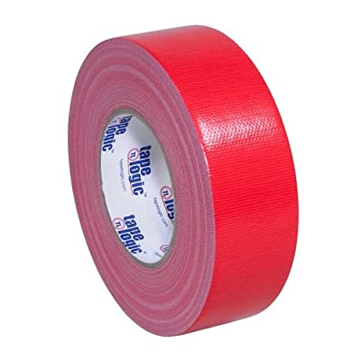 """Tape Logic T987100R3PK, 10.0 Mil Duct Tape, 2"""" x 60 yd, Red (Pack of 3) from Tape Logic"""