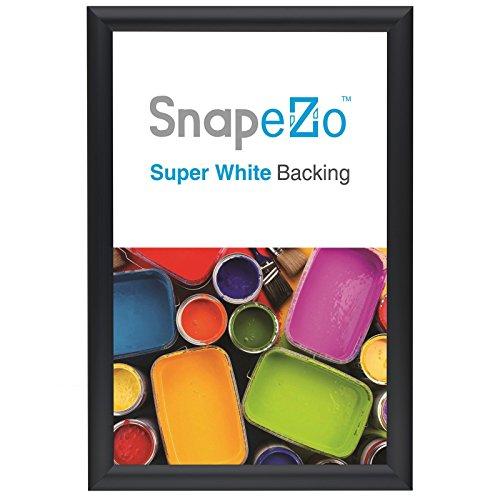 "SnapeZo Document Frame A3 Size , Black 1"" Aluminum Profile,"