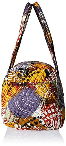 Women's Large Duffel, Signature Cotton, Painted Feathers by Vera Bradley (Image #3)