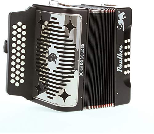 Hohner Panther Diatonic Accordion - Keys of F, Bb, and EB by Hohner Accordions (Image #1)