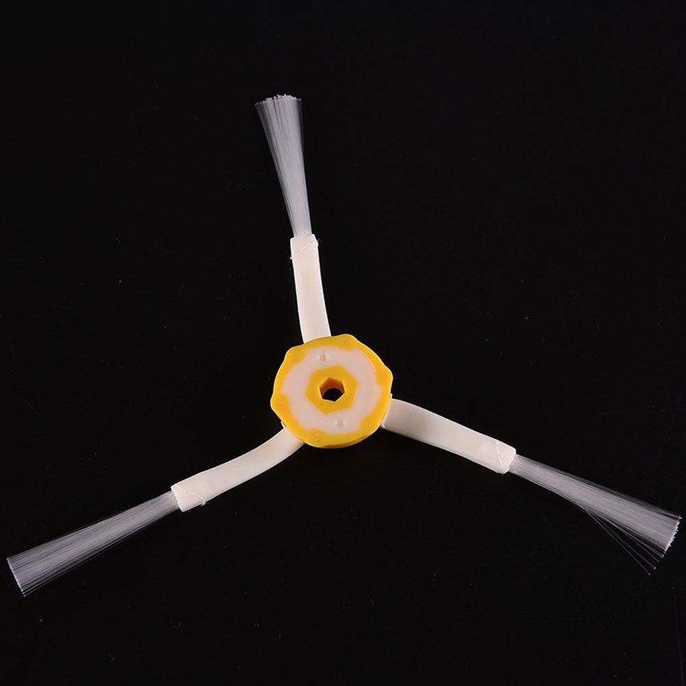 repuesto cepillo lateral 3-Armed para iRobot Roomba 500 600 700 Series cepillo lateral 6 unidades por 570 630 650 760 3 armado