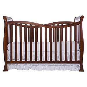 Dream On Me Violet 7 in 1 Convertible Life Style Crib, Espresso