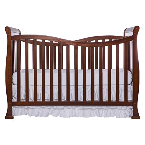 Dream On Me Violet 7 in 1 Convertible Life Style Crib, Espresso by Dream On Me