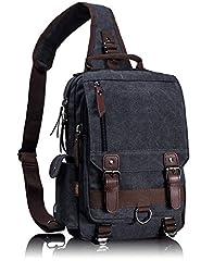 Canvas Messenger Bag Sling