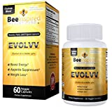 Evolvv Detox and Weight Loss Supplement: Bee Pollen, Garcinia Cambogia, Fish Collagen, Fiber, Senna, Cassia, Aloe Vera, Guarana, Lotus Seed, Flax Seed Extract for the BEst Detox and Weight Loss Combination. 2x Pure Garcinia Cambogia Ultra Slim Extract, HIGH% HCA, 60 Caps, 1200 mg | Best Reviews For How to Burn & Lose Fat Fast - Naturally Lower Weight loss Pills & Detox Custom Formula Support Supplements That Works - Quickly, Safely, At Home & Lose It Now For Life