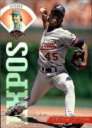Amazoncom 1995 Leaf Baseball Card 88 Pedro Martinez Mint