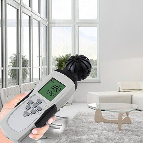 Carbon Dioxide Sensor Meter Tester 9999ppm CO2 Temperature RH Measurement by Gain Express (Image #3)