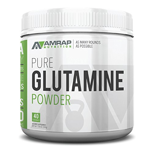 AMRAP Nutrition L Glutamine Powder Consumption