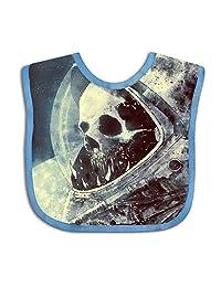 QIZI Unisex Baby Bandana Drool Bibs Dying Astronaut Cotton Neck Saliva Adjustable Towel Toddler for Girls Boys