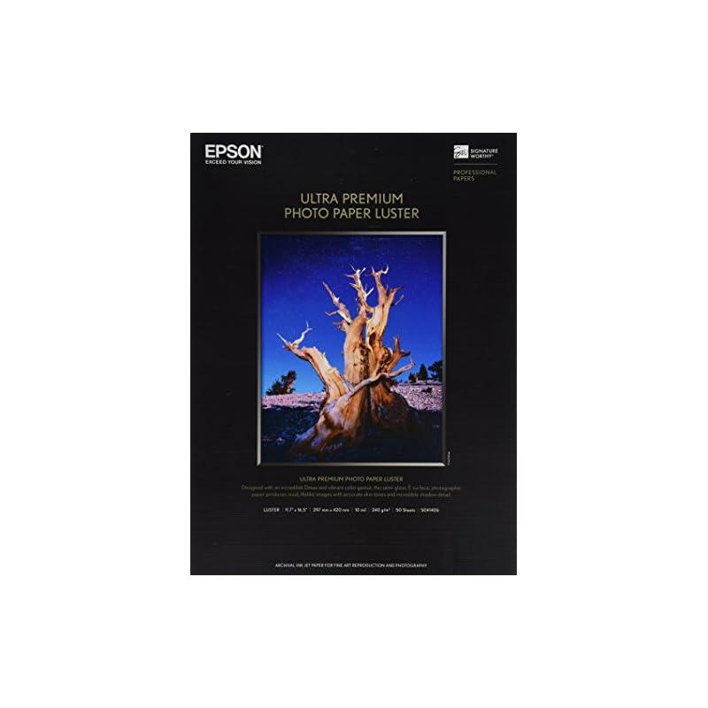 Epson Ultra Premium Photo Paper LUSTER (