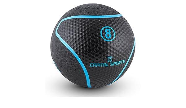 Capital Sports Medba 8 Balón medicinal 8kg (Adecuado para ejercicios de entrenamiento  core e3415064c3f9