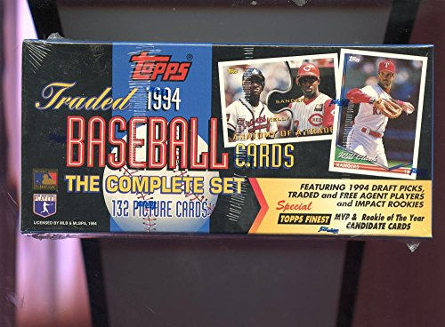 Complete Base Card Set - 1994 Topps Baseball Card Traded Full Complete Set SEALED BOX Paul Konerko Rookie