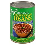 Amy's Organic Vegetarian Baked Beans, 15-Ounce Cans (Pack of 3)