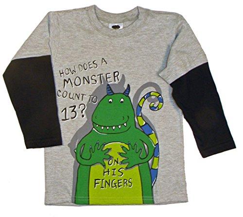 Mulberribush Tumbleweed Little Boys' Counting Monster 2fe...