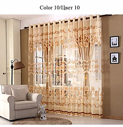 Buy Luxury Window Curtains Set for Living Room European ...