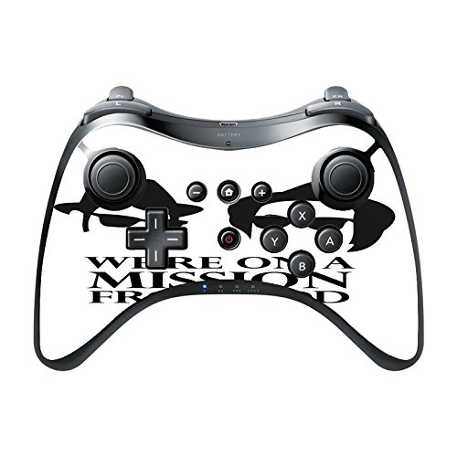 Amazon Com Mission From God Wii U Pro Controller Vinyl Decal