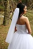 White Tulle Bridal Veil