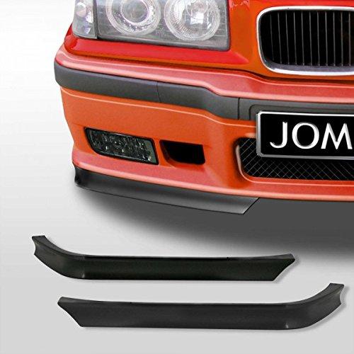 (OriginalEuro GT Euro Front Bumper Lip Chin Sport Valance Splitter Corner for BMW 3 Series E36 M3)
