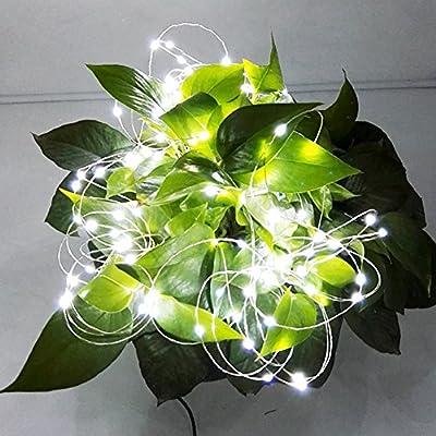 A&L 10 meters 120 leds string lights , Led starry string lights, led string lights,Led string tree lights ,LED Decorative Lights ,LED Christmas lighting, holiday lights 32.8FT/10M