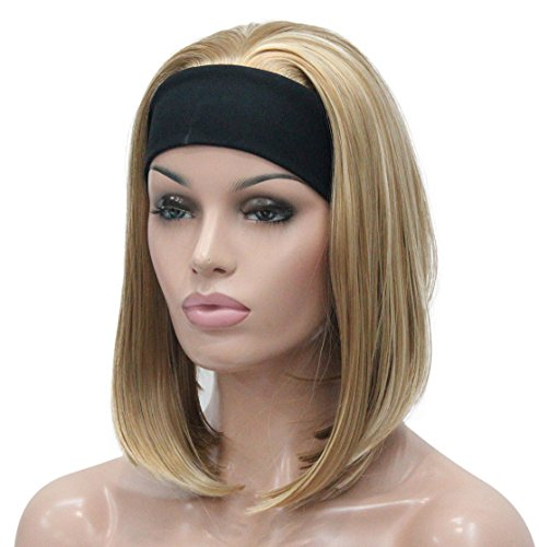 Lydell Straight Blonde Synthetic Headband product image
