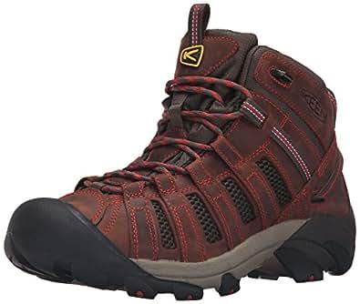 KEEN Men's Voyageur Mid Shoe, Barley/Bossa Nova, 7 M US