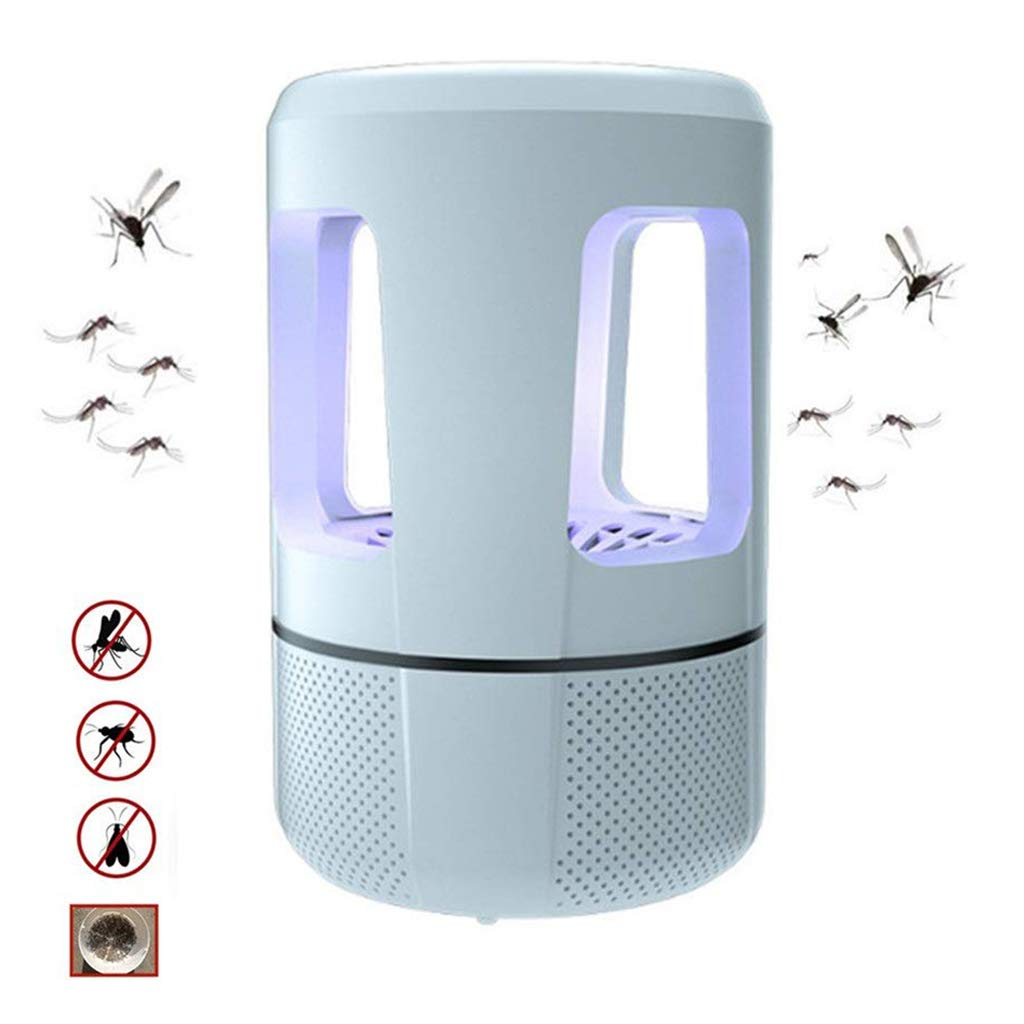 bluee Anti-Mosquito Lamp, USB Mosquito Killer, Anti-Mosquito Artifact, Home USB Charging Mosquito Killer, Bedroom, Silent Mosquito Repellent, Indoor Mosquito Trap,bluee