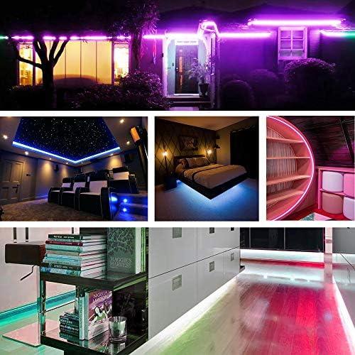 tools, home improvement, lighting, ceiling fans, novelty lighting,  led strip lights 4 on sale Nexillumi LED Strip Lights 16.4 Foot/5M deals