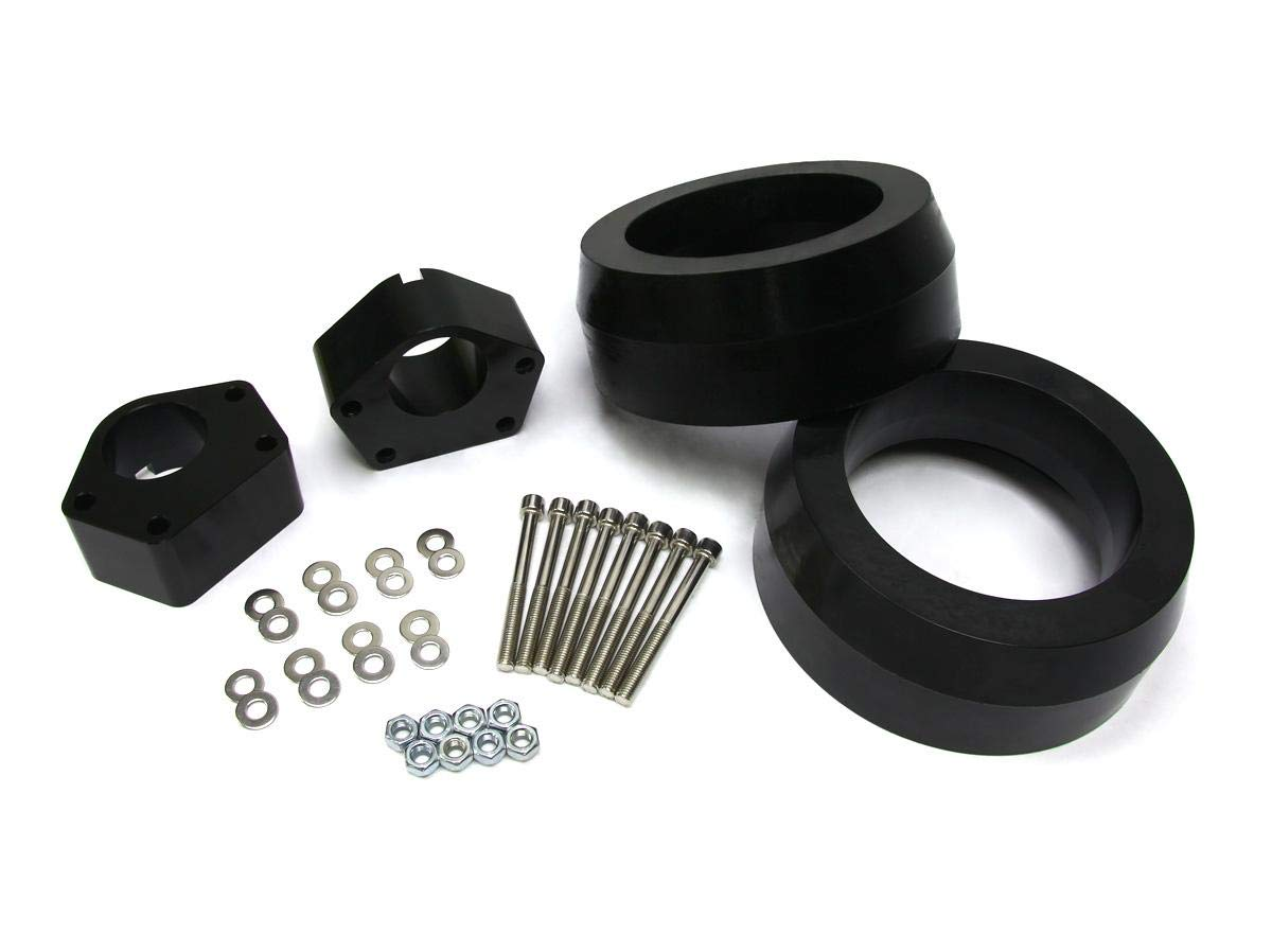 1990-1995 4Runner Lift Kit 3 Inch Front 2.5 Inch Rear BIG BRAWNS Aircraft Billet Ball Joint Spacers Heavy Duty Polyurethane Spring Spacers