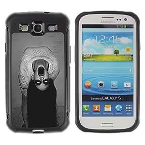 """Hypernova Defender Series TPU protection Cas Case Coque pour Samsung Galaxy S3 III I9300 [Endemoniado Bruja fantasmagórica""""]"""