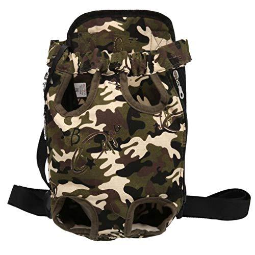 Acaricie el morral, morral del perro, bolso portable del animal doméstico del recorrido respirable del hombro, bolso del...