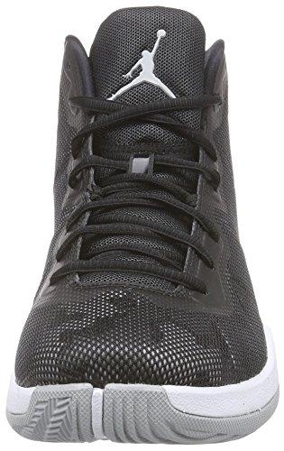 Nike Jordan Super.Fly 4 Zapatillas de baloncesto, Hombre Multicolor - Mehrfarbig (Wlf Grey/Cl Gry-Blck-Infrrd 23)