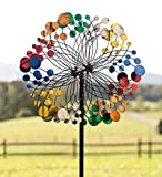 Bubbles Wind Spinner, Multicolored