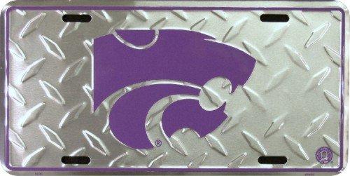 Kansas State Diamond License Plate Tin Sign 6 x 12in (License Plate Frame Kansas State compare prices)
