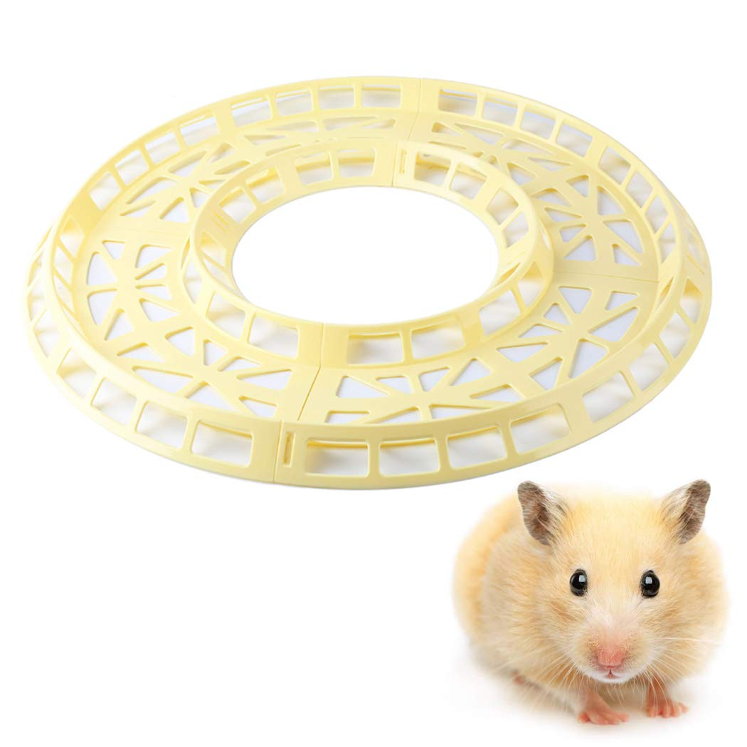 Legendog Hamster Track Set Interactive Rolling Ball Track Toy Pet Running Wheel Toy for Small Animals by Legendog