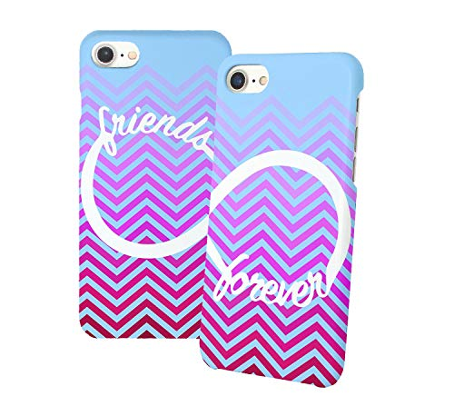 Infinity Symbol Friends Forever Phone Case Cover Best Friend Matching Couple BFF Bae Couples iPhone XR Both