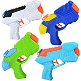 JOYIN 4 Pack Water Squirt Blaster Soaker Summer Water Swimming Pool Beach Toy