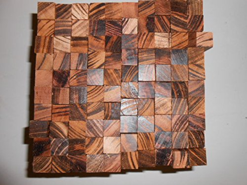 20 goncalo alves tigerwood turning squares 5/8 x 5/8 x 5 inches long kiln (Exotic Wood Veneer)