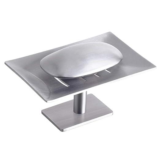 HANL-Bath Caja de jabón Titular de jabón Punzonadora Libre Acero ...