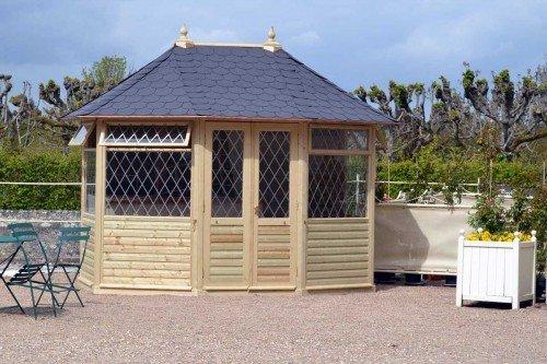 LIVEOUTSIDE-Georgian-Octagonal-Summerhouse-Pavilion-Double-Door-Top-opening-Windows-h-310-x-365-x-270-cm