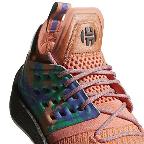 Adidas Harden Vol. 2 Meloen Mens Basketbalschoenen Houtskool / Hi-res Groen / Toekomst Wit