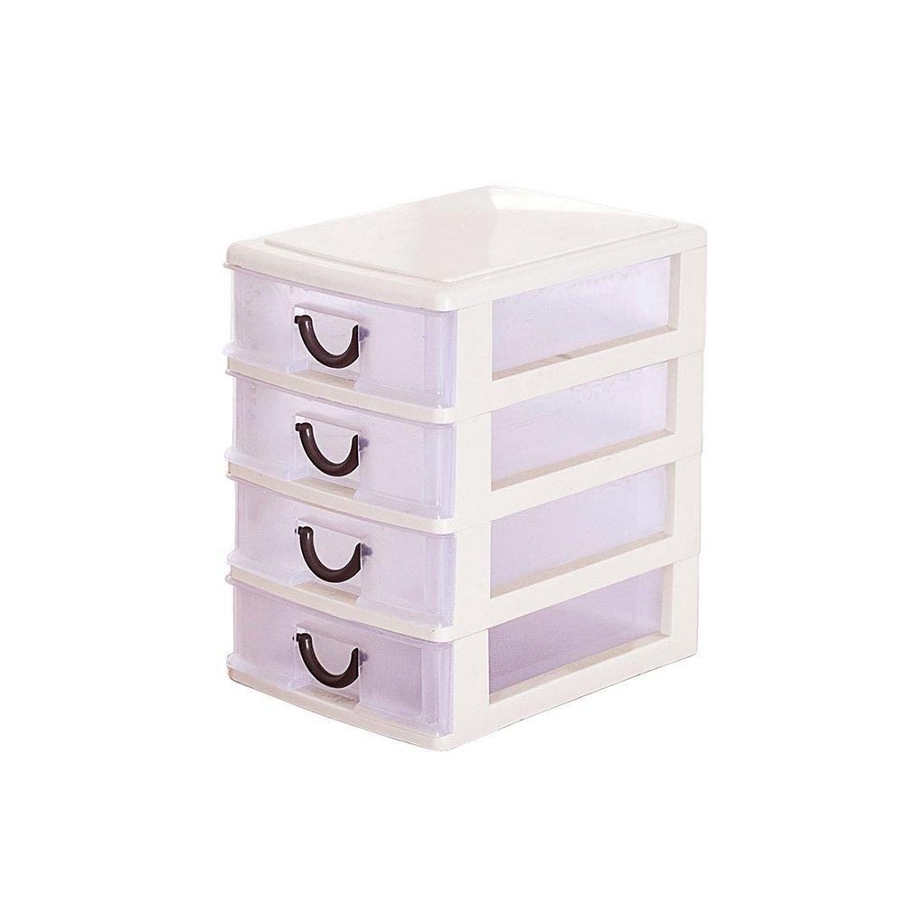 Etbotu Drawer Organizer,Plastic Transparent Board Divider Makeup Storage Boxes,for Home Kitchen