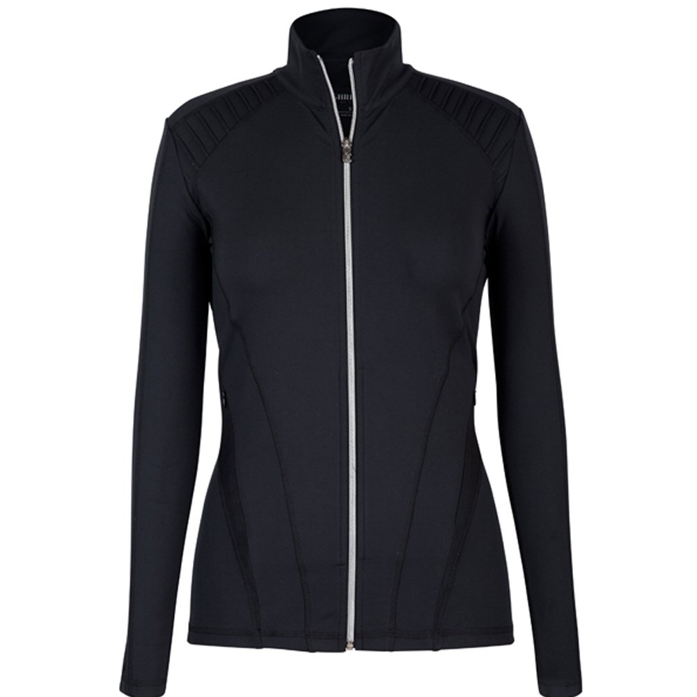 CHRISSIE BY TAIL Lexi Tennis Jacket Black