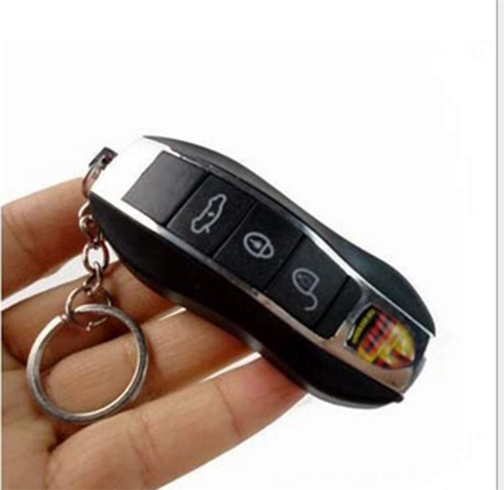 style1 YOYOSTORE 1 Pc Buttons Electric Shock Car Remote Control Keychain Trick Prank Joke Toys
