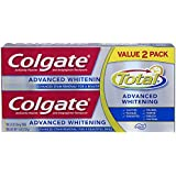 Colgate Total Advanced Whitening Toothpaste - 11.6 ounce (Twin Pack)