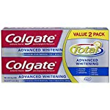 Colgate Total Advanced Whitening Toothpaste Twin Pack - 11.6 ounce (Pack of 12)