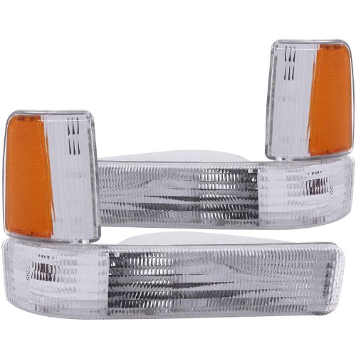 HEADLIGHTSDEPOT Park Light Compatible with Dodge Dakota S SE LE SLT WS Base Sport Signal Bumper Corner Lights ()